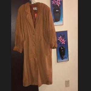 Avani leather coat